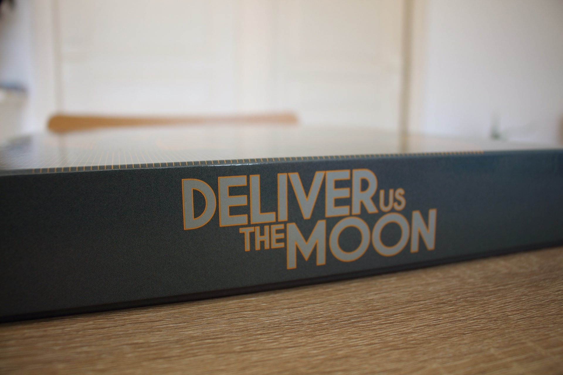 unboxing édition collector Deliver Us The Moon